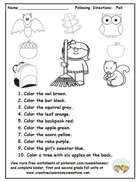 free printable following directions activities best 25 following directions activities ideas on pinterest