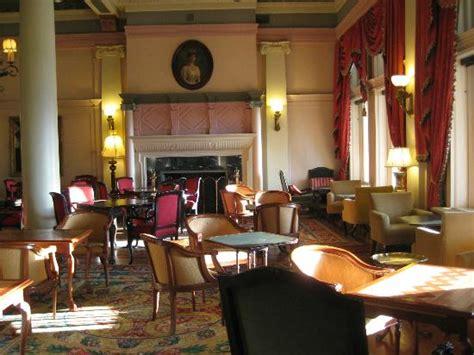 the empress tea room tea room in evening