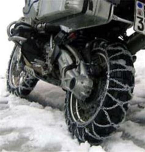 bmw gs snow chains neve moto catene