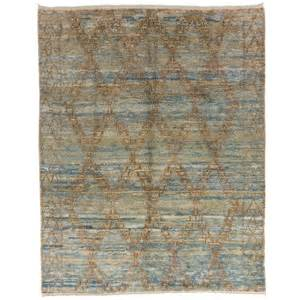 light colored rugs moroccan wool rug in light blue and rust color for sale at