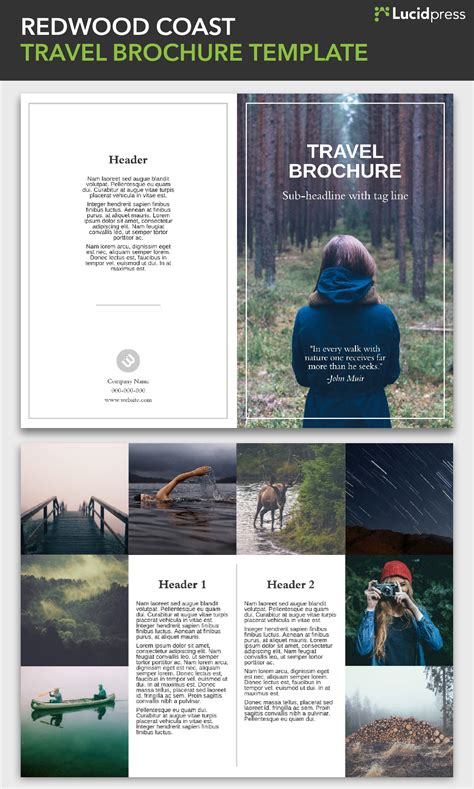free travel brochure templates examples 8 free templates with