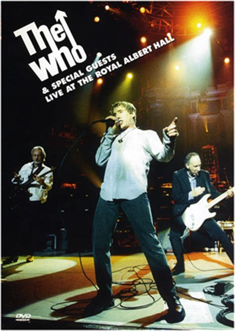The Who Special Guests Live At The Royal Albert the who special guests live at the royal albert the who