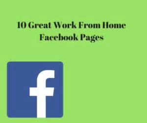 10 great work from home facebook pages spectrum of wellness