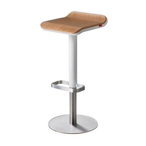 White Kitchen Bar Stools by Ed Kitchen Bar Stools Adjustable Height White Oak Moree