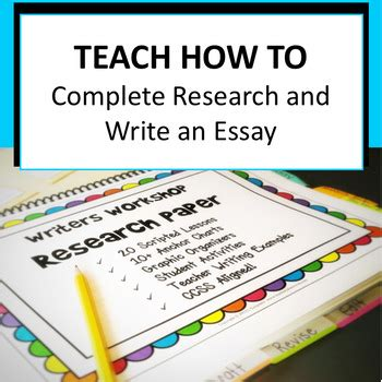teaching how to write a research paper how to teach writing a research paper 28 images steps