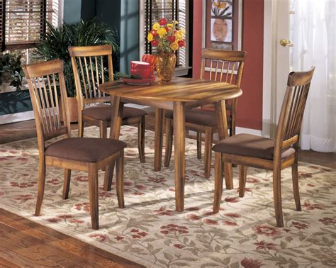Berringer Dining Table Berringer Dining Room Drop Leaf Table 4 Uph Side Chairs Dining Room Groups D L Furniture