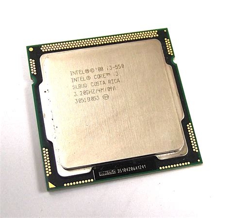 intel slbud i3 550 3 2ghz lga1156 dual processor