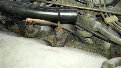 1979 450sl fuel pressure regulator vacuum line