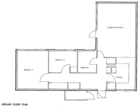 Pool House Plans With Bedroom by 2 Bedroom 2 Bath Cottage Plans Bedroom Cottage Plans