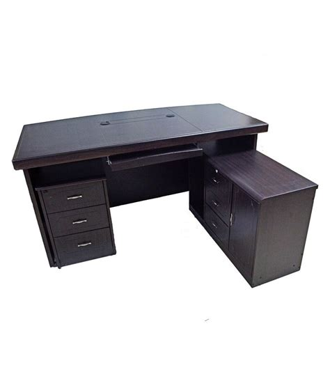 Office Table Desk Eros Executive Office Table Desk With Side Return Table