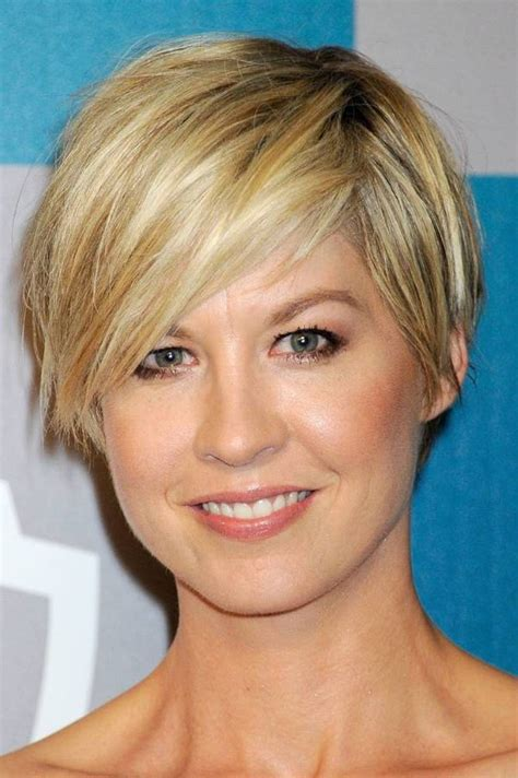 jenna elfman hair styles back view short pixie jenna elfman hair cut it off pinterest