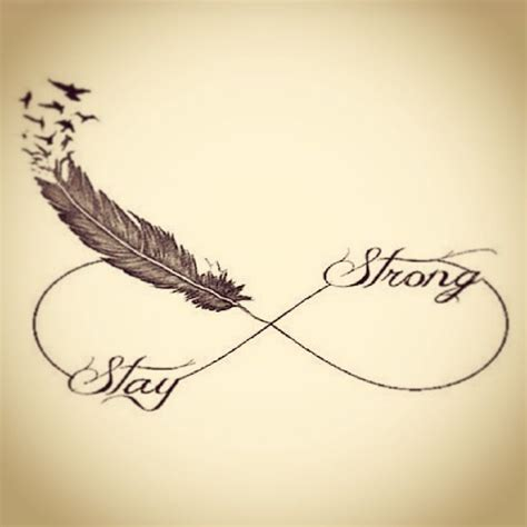 stay strong infinity tattoo infinity sign stay strong someday tattoos