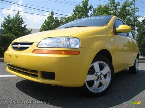 2008 chevrolet aveo aveo5 ls in summer yellow 036065