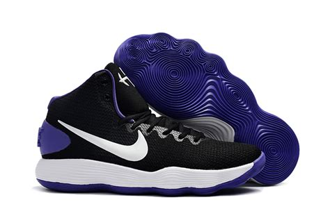 purple and black nike basketball shoes nike hyperdunk 2017 ep black white purple basketball
