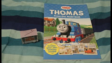 Press Out Model Book hd the tank engine press out model station book