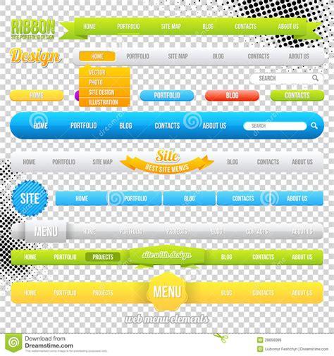 Best Photos Of Website Menu Template Website Menu Graphics Website Navigation Design Template Web Page Menu Templates