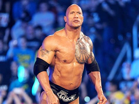 the rock the rock hints at his wrestlemania 33 status total magazine