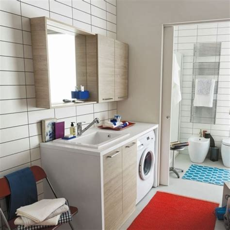 arredo bagno con lavatrice mobile bagno con lavatrice piccolo bagno con mobile per