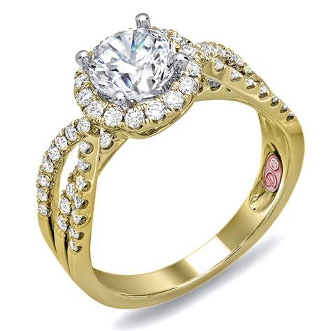 designer bridal rings dw6091