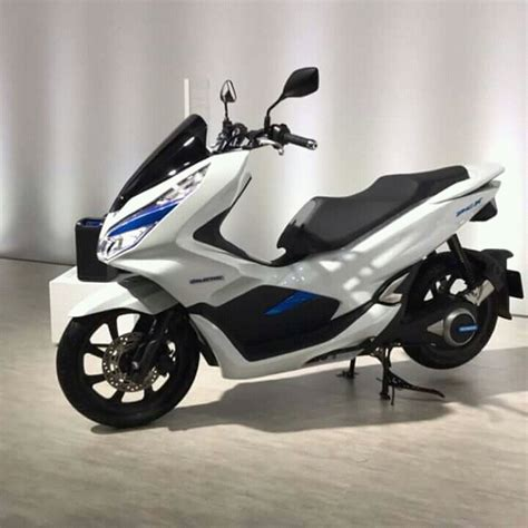 Pcx 2018 Harga Bali by Ini Dia New Honda Pcx 150 Hybrid 2017 Di Tokyo Motor Show