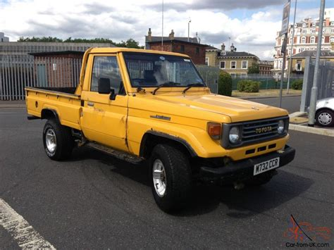 land cruiser pickup 1998 used toyota land cruiser pickup for sale in uk