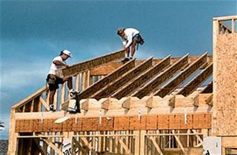 lookout flat roof framing roof framing with wood i joists jlc engineered