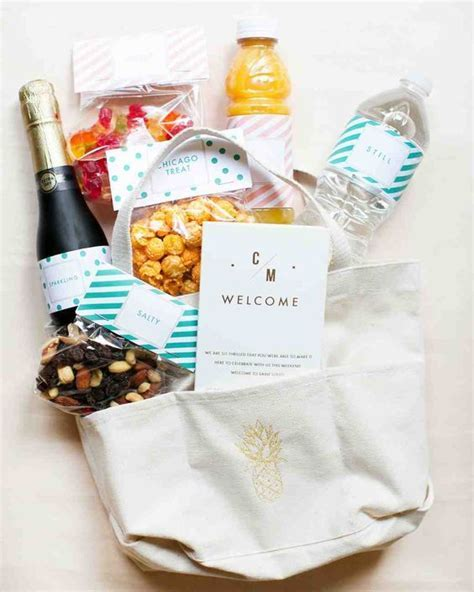 25  best ideas about Wedding Welcome Bags on Pinterest