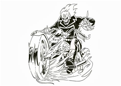 free coloring pages of lego ghost rider
