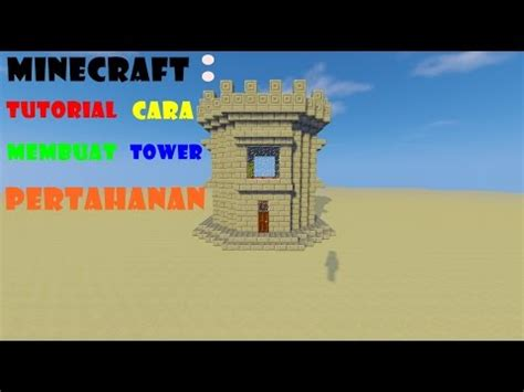 cara membuat hidroponik tower minecraft tutorial cara membuat tower pertahanan youtube