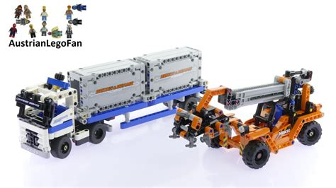 Diskon Lego Technic 42062 Container Yard lego technic 42062 container yard lego speed build review