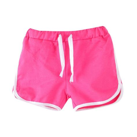 Summer Shorts by Color Trousers Unisex Boys Shorts Summer