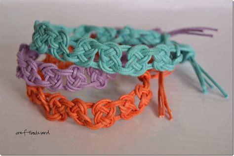 Macrame Braiding - summertime macrame bracelets 183 a rope bracelet 183 braiding