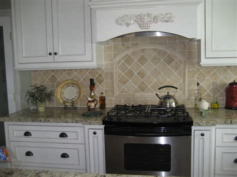 tile kitchen backsplash ideas with white cabinets