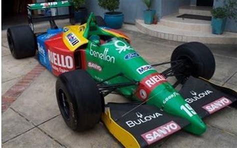 auto bid on ebay bid drive fast vintage benneton f1 car up for