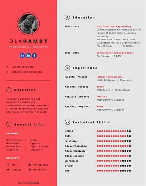 Modelo Curriculum Original 10 Modelos De Plantillas Creativas Y Originales Para Crear Tu Curriculum