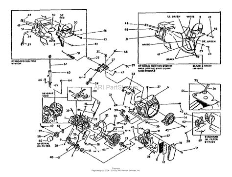 troy bilt pressure washer diagram troy bilt 41050 02 6 5hp gas engine s n 4105002100101