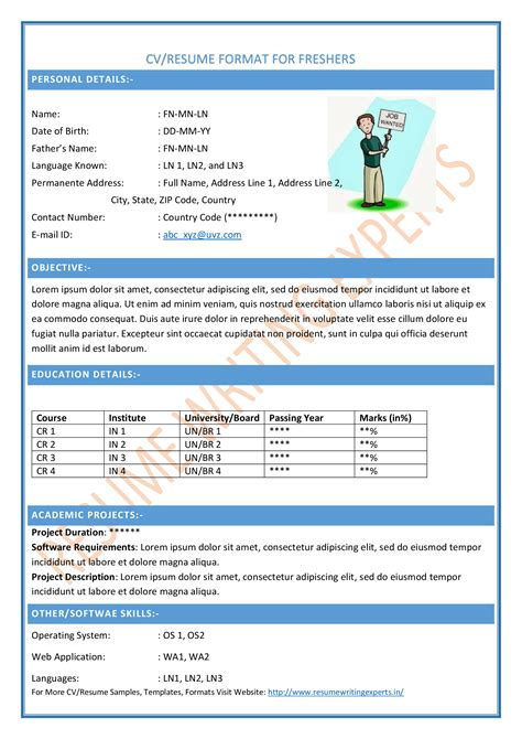 resume formats for teachers post college resumes resume t for