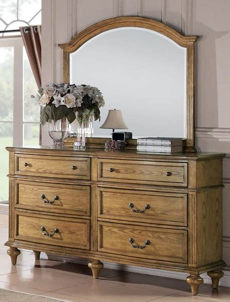 light oak dresser with mirror emily country light oak dresser mirror the classy home