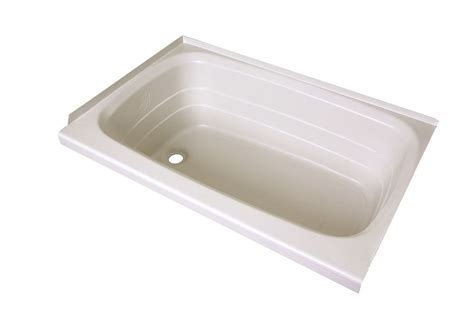 bathtub for rv better bath 24 quot x 36 quot rv bath tub left drain white