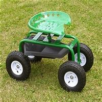 garden scooter tractor seat garden scoot with tractor seat pneumatic wheels