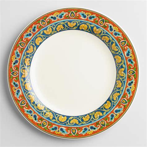 voyage paige dinner plates set of 4 world market