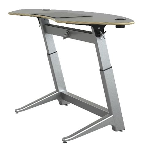 safco focal sphere standing desk 4 colors available