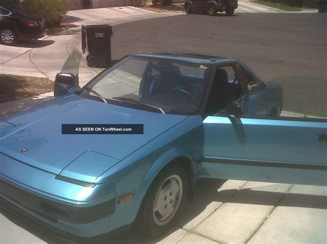 kelley blue book classic cars 1985 toyota mr2 on board diagnostic system service manual auto body repair training 1985 toyota mr2 transmission control 1985 toyota