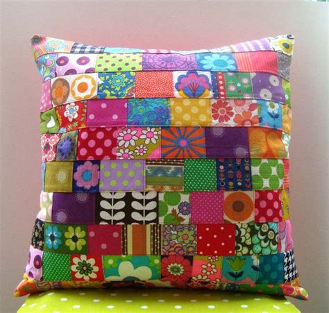 Patchwork Ideas For Cushions - 25 best ideas about patchwork cushion on