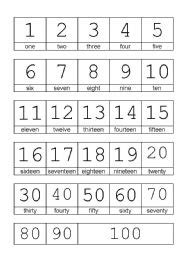 numbers 1 100 in english printable english teaching worksheets numbers 1 100