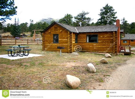 Log Cabin Rentals Colorado by Mountain Vacation Rental Cabin Royalty Free Stock Image