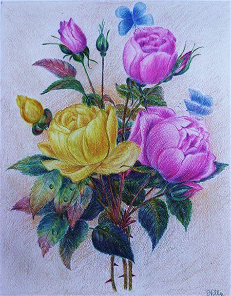 disegni a matita fiori fiori disegni tutto 3575546761 in design