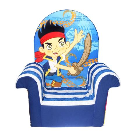 jake and the neverland pirates couch spin master marshmallow furniture high back chair jake