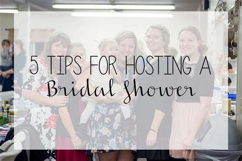5 tips for hosting a bridal shower irwin pa
