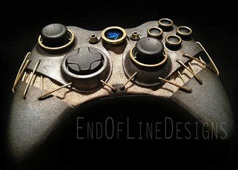 dishonored custom xbox 360 controller geeky gadgets